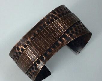 SayLaVee Fold Formed Copper Cuff