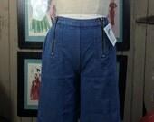 1970s jeans 70s wide leg jeans size medium Vintage hippie jeans