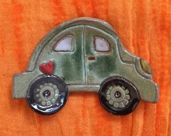 VW Beetle Tea Bag Holder