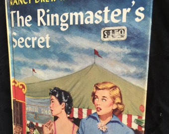 1953 Nancy Drew Ringmaster's Secret