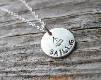 Sailing Necklace