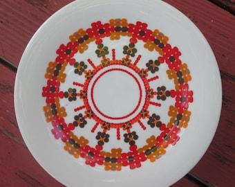 "Eight Salad Plates/ Dessert Plates - Vintage Royal Doulton ""Kaleidoscope"" Dinnerware"