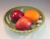 Pottery Fruit Bowl/Berry Bowl/Fruit Serving Bowl
