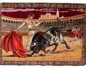 Velvet Bullfighter Tapestry