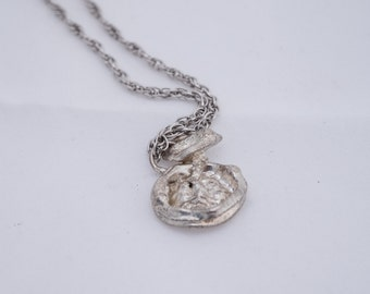 Recycles Silver Charm Amulet