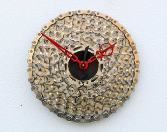 Recycled Bike Cassette Gear Clock