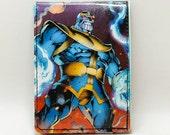 Sewn Comic Book Wallet/Fan Mag Wallet - Thanos, Thor, Loki