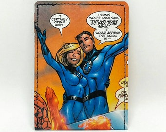 Sewn Comic Book Wallet - Fantastic Four