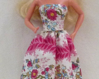 "11.5"" Fashion Doll Clothes - floral"