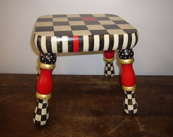 High Fashion Hand Painted  Stool