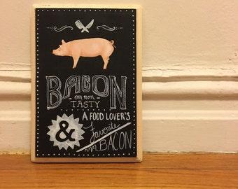 Mmmmmmm...Bacon - A Yummy Painting