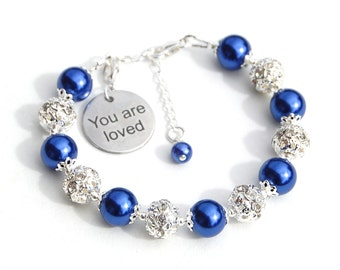 Wife Girlfriend Valentines Gift You are Loved Bracelet