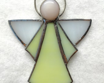Stained Glass Ornament - Angel
