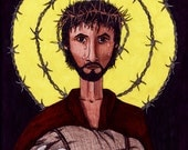 RefuJesus FINE ART reproduction PRINT