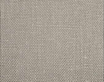Sultana Burlap - Ash Grey - by James Thompson & Co.