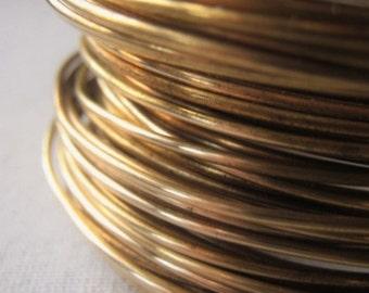 Wire Jewelers Brass 16 Gauge Gold Jewelry Wire Item No. 8582