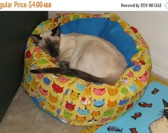 SALE Dog Cat Bed Pattern Tutorial Marshmallow Cuddle Bed cats and dogs PDF