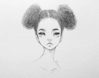 Pretty puffs - original drawings