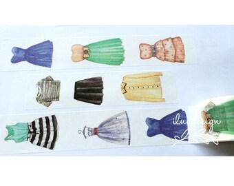 Dresses Washi Tape (184069)
