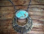 Feathers and Turquoise