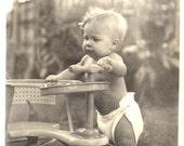 Taylor Tot Stroller Diapered Child MITZI GROPP GRAPP Honolulu 1940