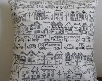 Summersville 16 inch pillow cover - Free Shipping