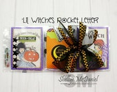 Lil Witches POCKET LETTER- Halloween Themed Happy Mail, Planner Supplies, Pen Pal Kit, Papercrafting, Scrapbooking, Cardmaking, Halloween