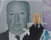 Alfred Hitchcock Doll Miniature Art Character Film Director