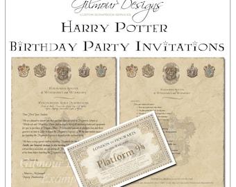 Harry Potter Hogwarts Acceptance Letter Printable with book