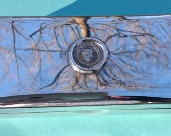 The Patrick Kennedy - Oscar Scalfaro Box by Pampaloni in Sterling Silver