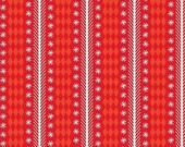 20% OFF Riley Blake Nutcracker Christmas Stripe Red