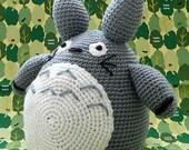 Totoro / Amigurumi Totoro / Crocheted Totoro / Handmade Totoro