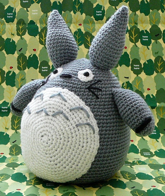 Amigurumi Totoro Ohje : Totoro / Amigurumi Totoro / Crocheted Totoro / Handmade Totoro