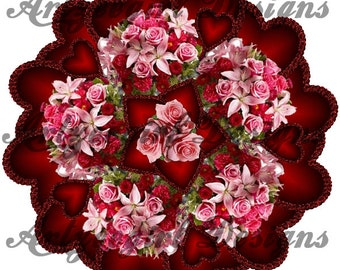 Valentine Roses, Mandala