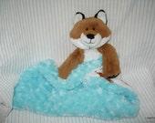 Security Blanket, baby blanket, luvi, lovie - fox lovems