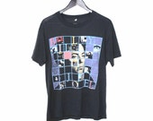 BILLY JOEL tour Tshirt vintage 80s 90s paper thin POP rock unisex shirt os medium