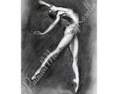 Instant Download print DANCE BALLERINA, DANCE 4.5 X 6