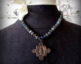 Infant of Prague Necklace