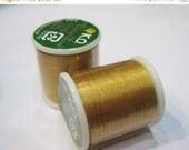ON SALE Gold KO Nylon Japanese Beading Thread 55 yards