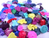 100 FUN Buttons Colorful Buttons Animal Buttons Smiley Face Apples Fruit