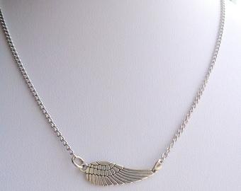 Angel Wing Necklace,  Wing necklace, Angel Necklace SALE