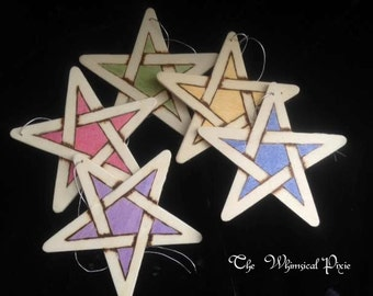 5 Elements Pentagram Gift Tags/Ornaments