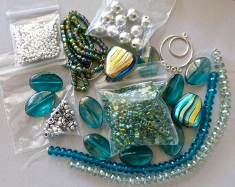 Mix of Assorted Vintage and New Beads to Play With OOAK   (B)