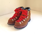 vintage donner style hiking boots kids hiking boots size 6/7