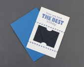 Hope You Have The Best Birthday - Letterpress Gift Card Holder