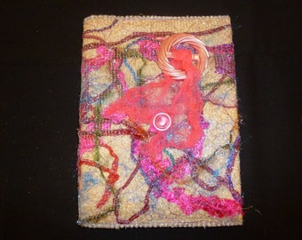 Journal Cover Textile Art (595)