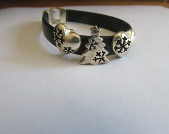 Snow flake tree bracelet
