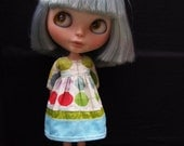 Mixed Textiles Classic Girl dress for Blythe