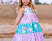 GIrls Spring Dress - Easter Dress - Girls Sundress