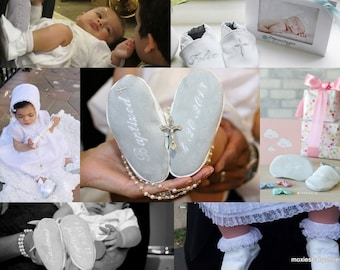 baby-baptism-christening-shoes-soft  leather baptism shoes  monogrammed by softsoulbabyshoes